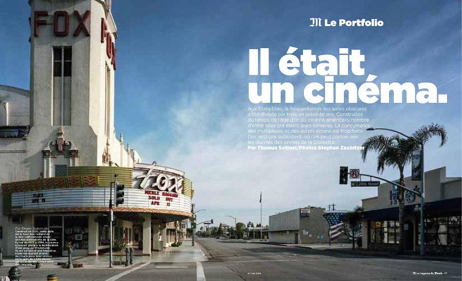 M le Monde, Mai 2014