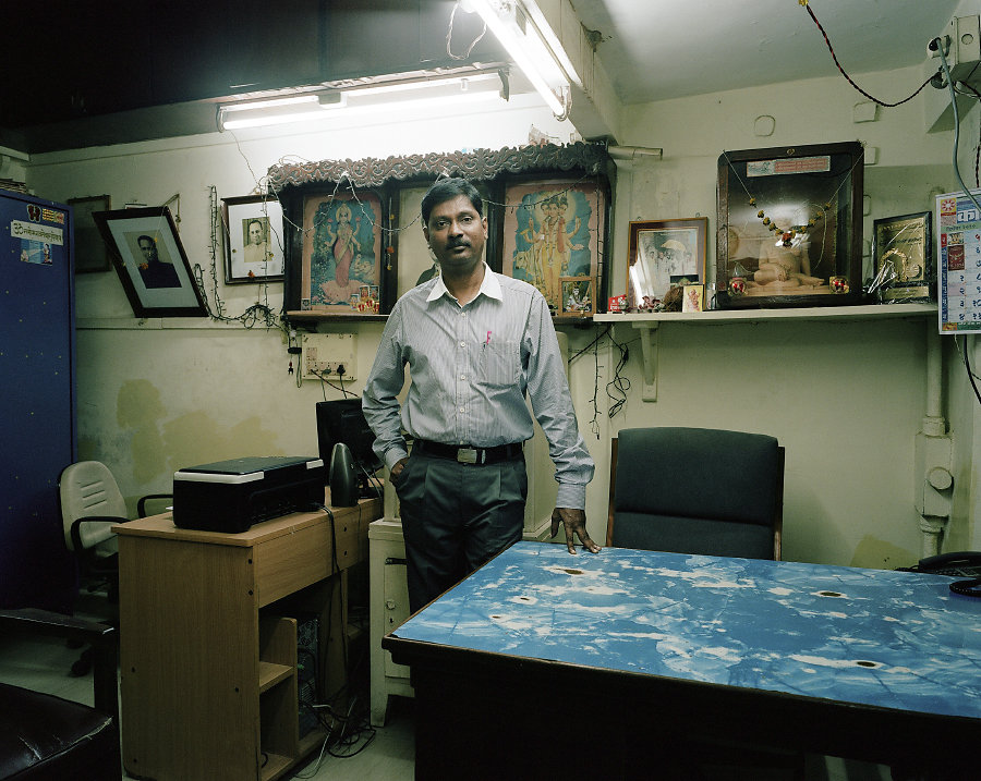 Pranay Oval, gérant du Bharat Cinema de Mumbai.