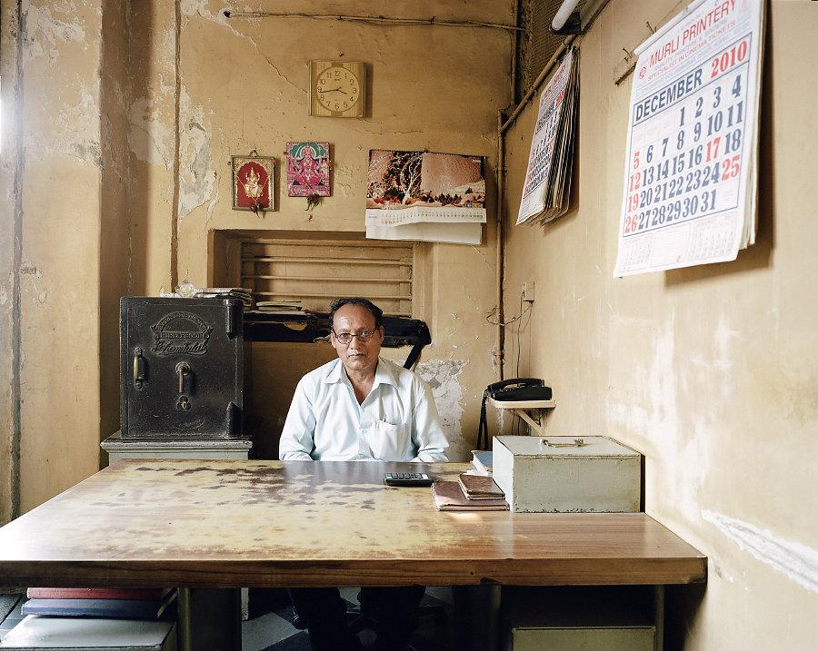 Bhagwan Singh, gérant du Nishat Theatre de Mumbai