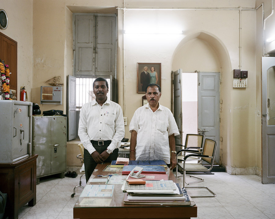 Gérants du Edward Theater de Mumbai