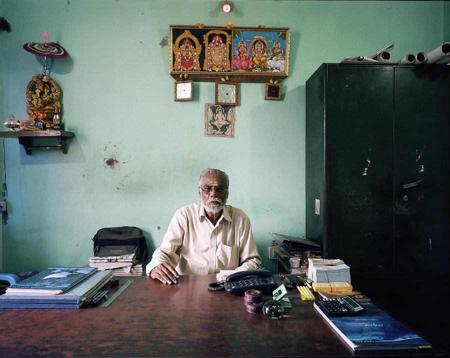 P.T. Raja Chandarasecar du Ganapathy Theatre de Chennai