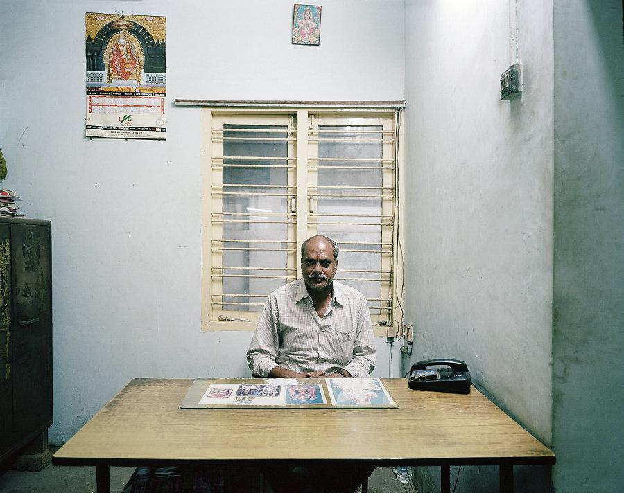 Jaya Kumar, gérant du cinema Jenty, Chennai