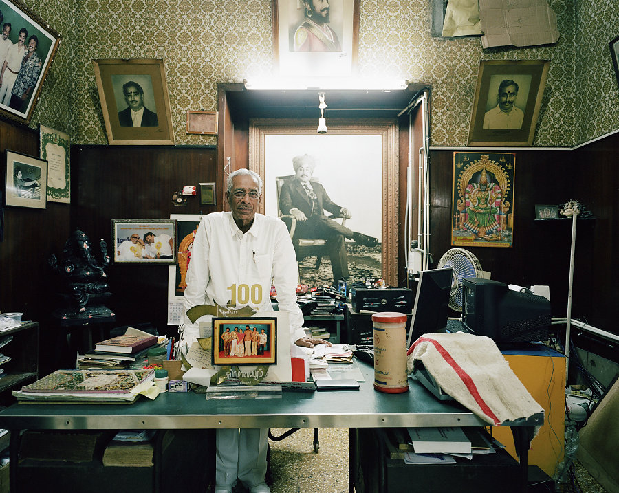 K.Vanugopal, gérant du cinéma Sahnti de Chennai