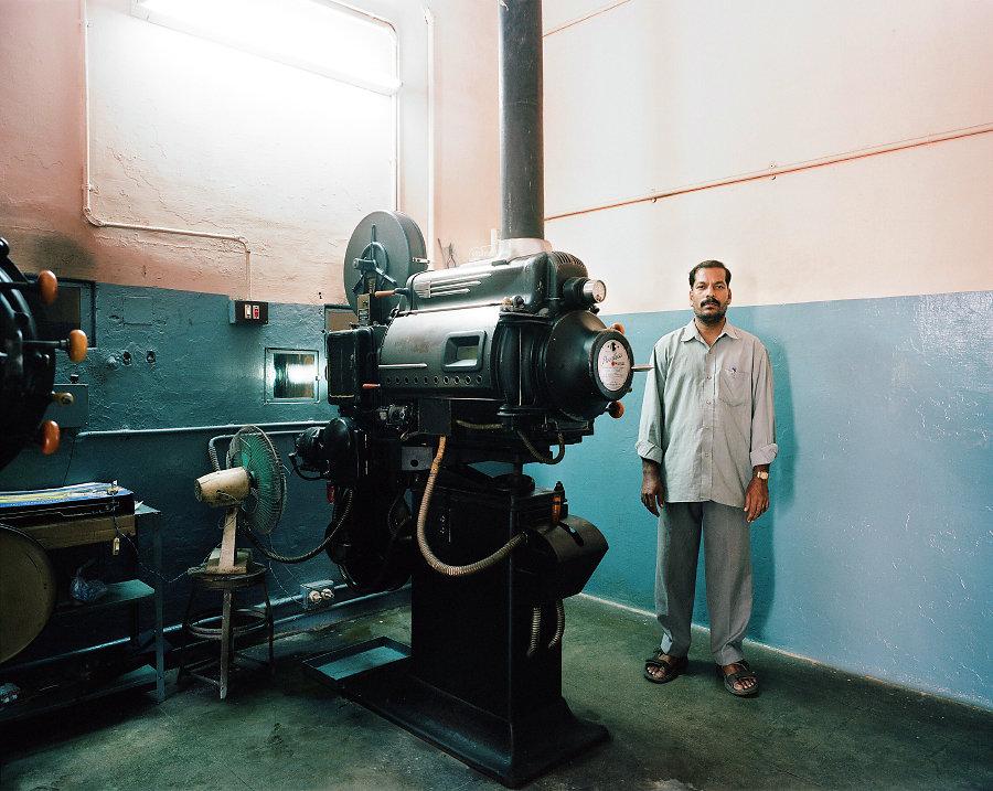 Vidyapathy, projectionniste du cinéma Star de Chennai