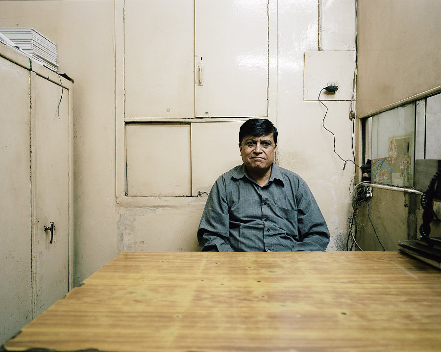 Roop Ghai, gérant du Regal Cinéma de Delhi.