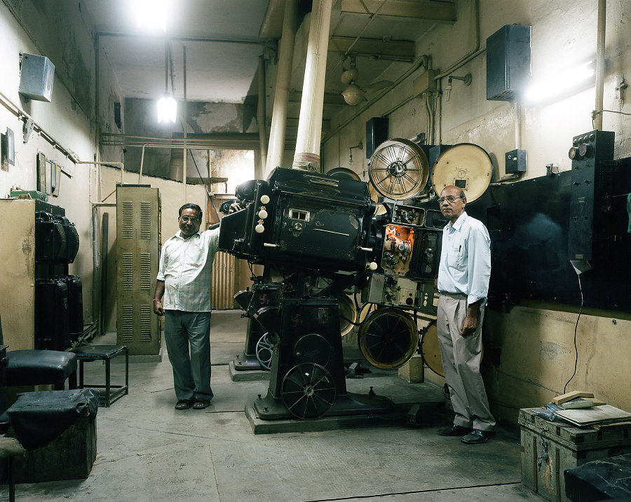 Ravi Kumar et Ramesh Kumar du Rigal Cinema de Delhi