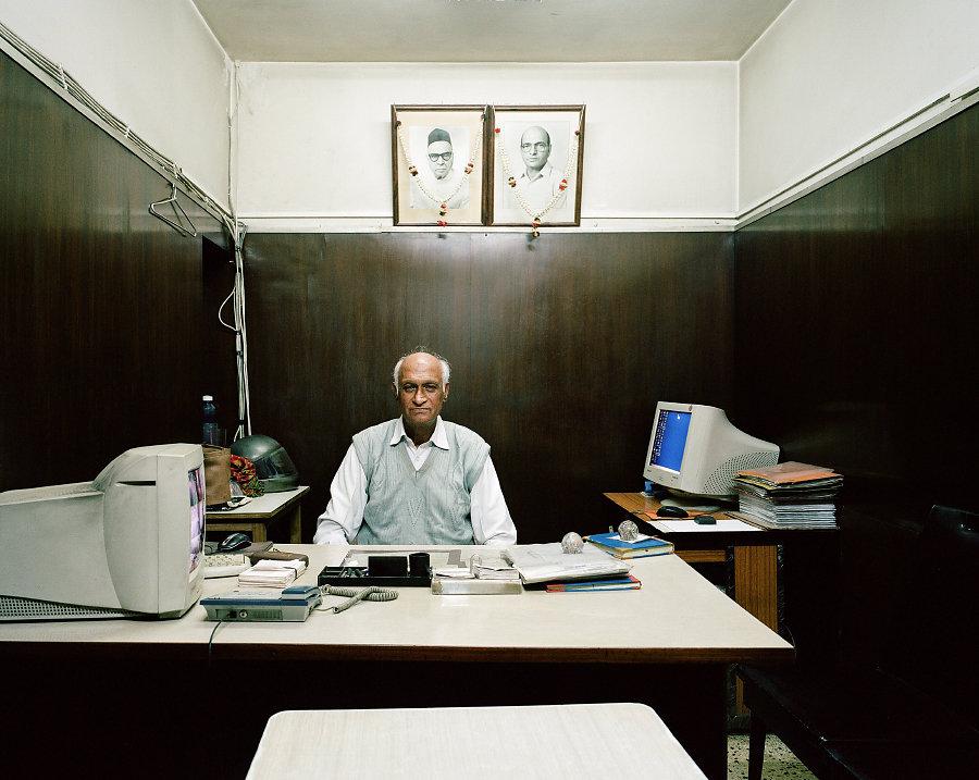 Om Prakash, gérant du Liberty Cinema de Delhi